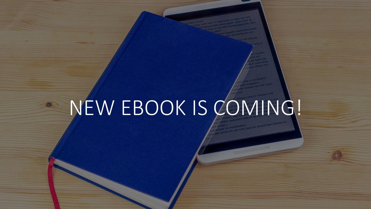 New eBook is Coming!